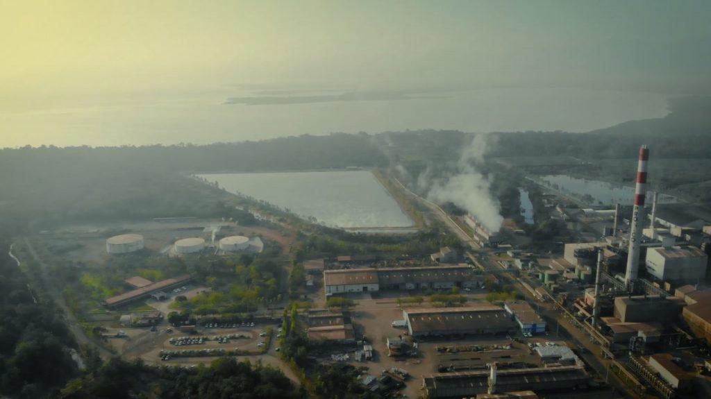 planta de proceso PRONICO, IZABAL