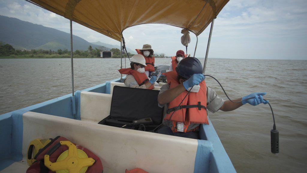 monitoreo de la calidad de agua en el lago de izabal
